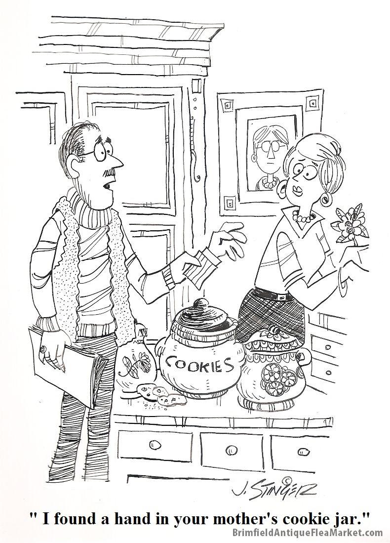 Happy Mothers Day Cartoon courtesy of John Stinger of Stingerfineart.com