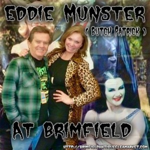 Gary Sohmers, WexRex to feature Butch Patrick aka Eddie Munster at Brimfield