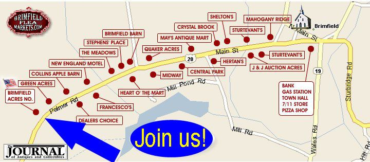 Brimfield Acres North Brimfield Antique Flea Markets 2020