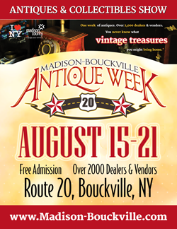 Madison Bouckville Antique Week August 2016