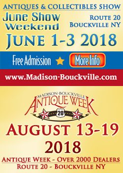 Madison Bouckville - June Weekend, August Antique Week 2018