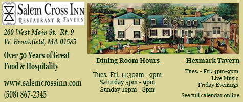 Salem Cross Inn - Restaurant & Tavern