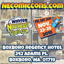 NorthEast Comic Con & Collectibles Extravaganza - November 2018