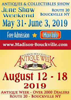 Madison-Bouckville - June Show - Antique Week - 2019
