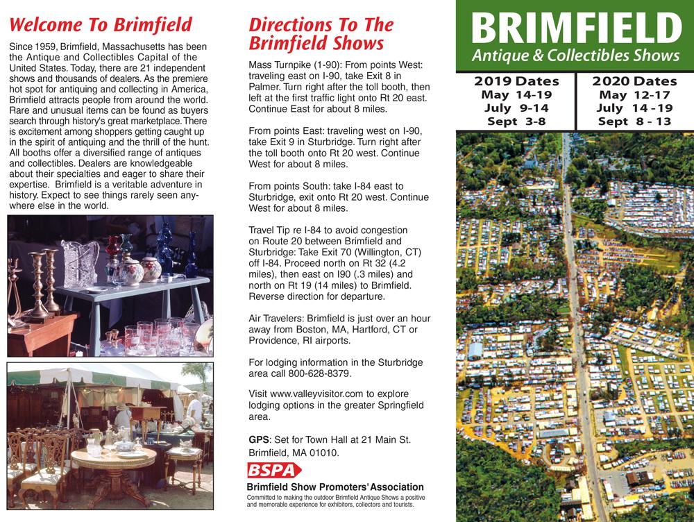 Brimfield Antique Flea Market Show - 2019