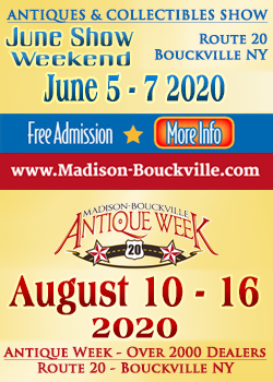 Madison-Bouckville - June Show - Antique Week - 2020