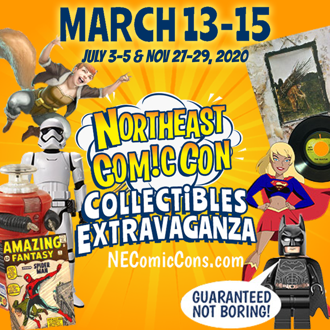 NorthEast ComicCon and Collectibles Extravaganza 2020