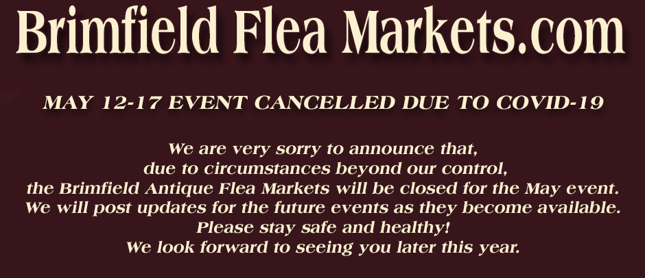 May 2020 Brimfield Cancelled