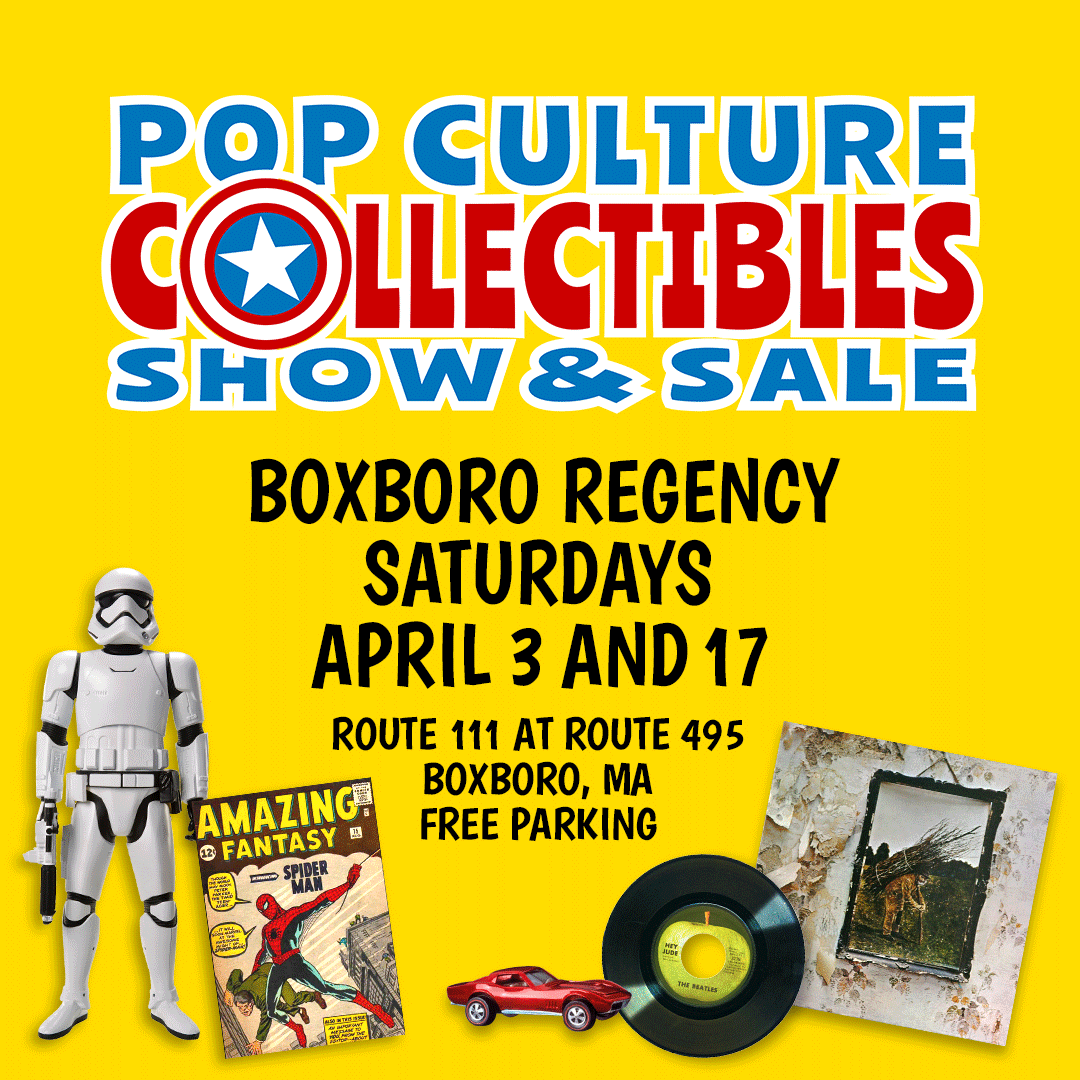 Pop Culture Collectibles Show & Sale