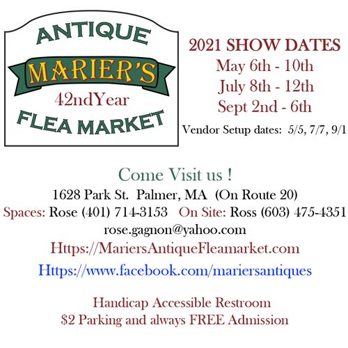 Marier's Flea Market 2021