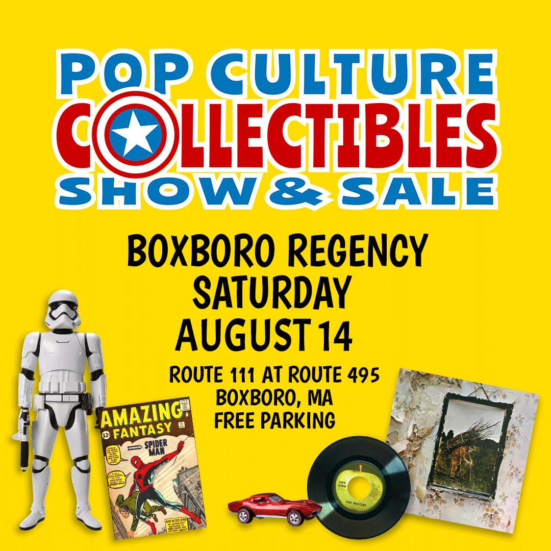 Pop Culture Collectibles Extravaganza