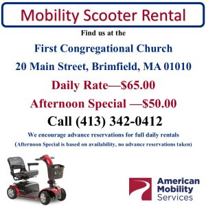 Mobility Scooter Rental - 2021